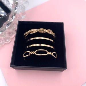 Women's cuff Bracelet set